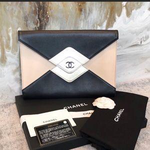 Chanel Multi Color Envelope CC Clutch